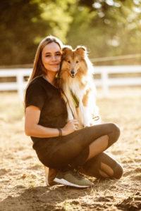 Natascha Schmitz Mantrailer Pettrailer Tiersuche Menschensuche Einsatz Mantrailing Pettrailing